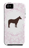 Pink Stallion iPhone 5 Case by  Avalisa