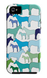 Cool Horse Pattern iPhone 5 Case por Avalisa