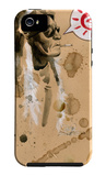 Indian Rock iPhone 5 Case por Lora Zombie