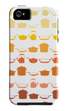 Orange Pots and Pans iPhone 5 Case by Avalisa