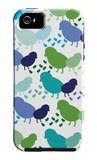 Cool Chick Pattern iPhone 5 Case by  Avalisa