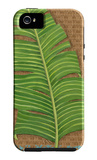 Block Print Palm VIII iPhone 5 Case por Chariklia Zarris
