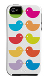 Rainbow Kiss iPhone 5 Case by  Avalisa