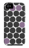 Purple Dots iPhone 5 Case by  Avalisa