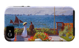Garden at Sainte Adresse iPhone 5 Case by Claude Monet