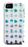 Blue Under the Sea iPhone 5 Case by  Avalisa