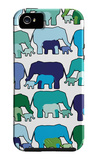 Cool Elephant Pattern iPhone 5 Case por Avalisa