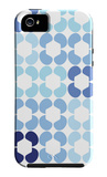 Blue Quilt iPhone 5 Case by  Avalisa
