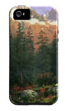 Canadian Rockies iPhone 5 Case by Albert Bierstadt
