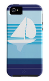 Navy Sail iPhone 5 Case by Avalisa