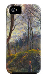 Landscape with Big Trees iPhone 5 Case by Camille Pissarro