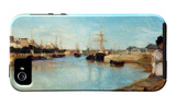 The Port of Lorient iPhone 5 Case por Berthe Morisot