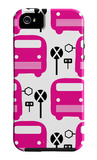 Pink Bus Stop iPhone 5 Case by  Avalisa