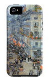The 14th July, Rue Daunou iPhone 5 Case by Childe Hassam
