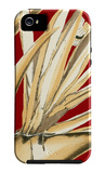 Red Background Tropical V iPhone 5 Case