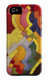 Colored Forms (Iii) iPhone 5 Case by Auguste Macke
