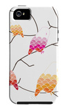 Pink Owl Branch iPhone 5 Case by  Avalisa