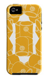 Orange Paint Collection iPhone 5 Case by  Avalisa