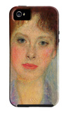 Portrait of Gertha Fersovanyi (Detail) iPhone 5 Case by Gustav Klimt
