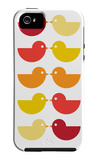 Orange Kiss iPhone 5 Case by  Avalisa