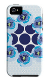Blue Wreath iPhone 5 Case by  Avalisa