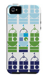 Blue Castle iPhone 5 Case by  Avalisa