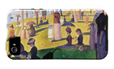 A Sunday on La Grande Jatte 1884, 1884-86 iPhone 5 Case by Georges Seurat