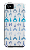 Blue Travel Architecture iPhone 5 Case by Avalisa