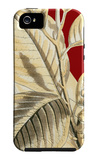 Red Background Tropical III iPhone 5 Case