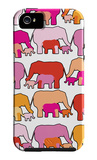 Warm Elephants iPhone 5 Case by Avalisa