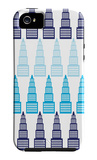 Blue Skyline iPhone 5 Case by  Avalisa