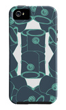 Blue Paint Collection iPhone 5 Case by  Avalisa
