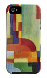 Colored Forms (I) iPhone 5/5S Case by August Macke