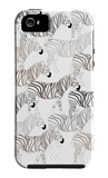 Zebra Pattern iPhone 5 Case by Avalisa
