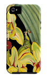 Tropical Plant on Black I iPhone 5 Case