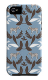 Blue Zebra Wilderness iPhone 5 Case by  Avalisa