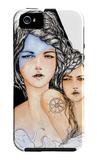 Aqua iPhone 5 Case by Charmaine Olivia