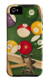 Rack'em Up II iPhone 5 Case by Jennifer Goldberger