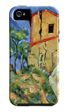 House with Walls iPhone 5 Case by Paul Cézanne