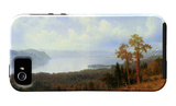 View of the Hudson River Vally iPhone 5 Case por Albert Bierstadt