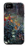Garden in the Street Cortot, Montmartre iPhone 5 Case by Pierre-Auguste Renoir