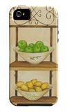 Fruit with Wrought Iron I iPhone 5 Case by Jennifer Goldberger