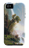 Yosemite Falls iPhone 5 Case by Albert Bierstadt