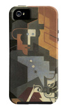 Men from the Tourraine iPhone 5 Case by Juan Gris