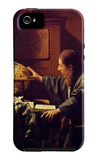 The Astronomer iPhone 5 Case por Jan Vermeer