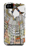 Kowloon Walled City iPhone 5 Case por HR-FM
