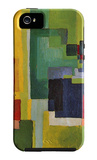 Colored Forms (II) iPhone 5 Case by August Macke
