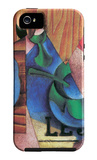 Glass, Cup and Newspaper iPhone 5 Case by Juan Gris