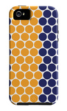 Blue Orange Dots iPhone 5 Case by  Avalisa