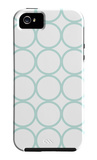 Seagreen Circles iPhone 5 Case by  Avalisa